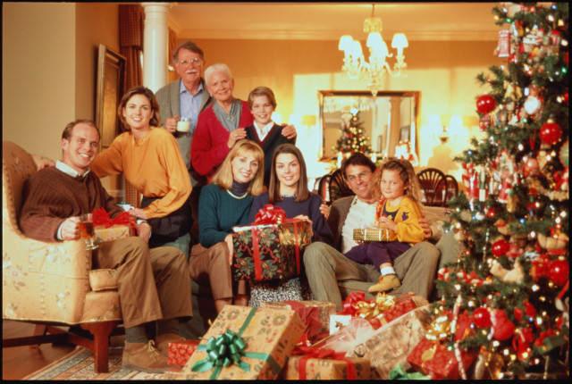 Сценарий проведения нового года в кругу семьи