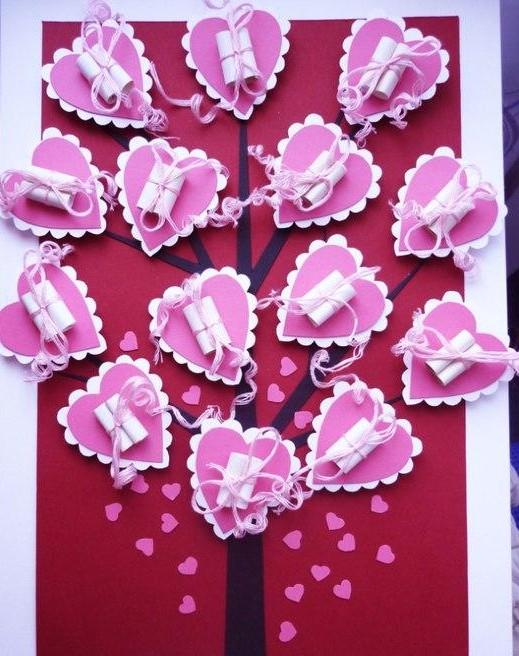 Подарки на день валентина своими руками маме
