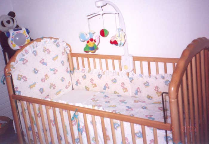 Детские бамперы в кроватку своими руками фото