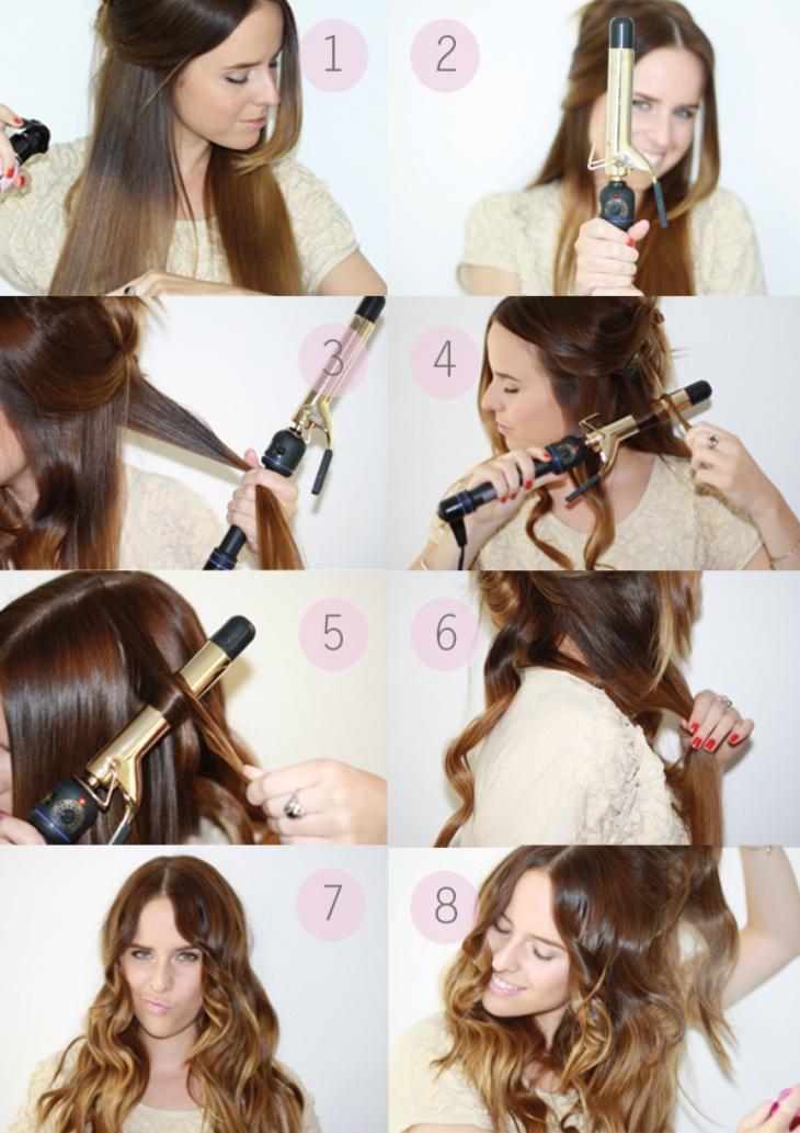 Как сделать так чтобы волосы вились сами
