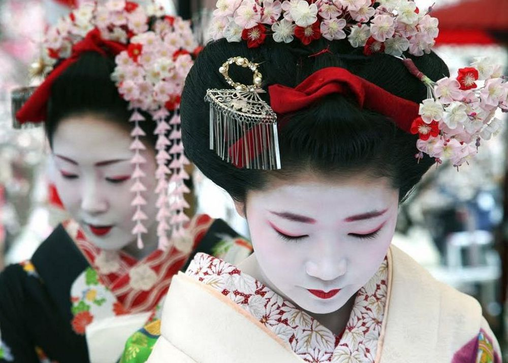 Костюм гейши своими руками