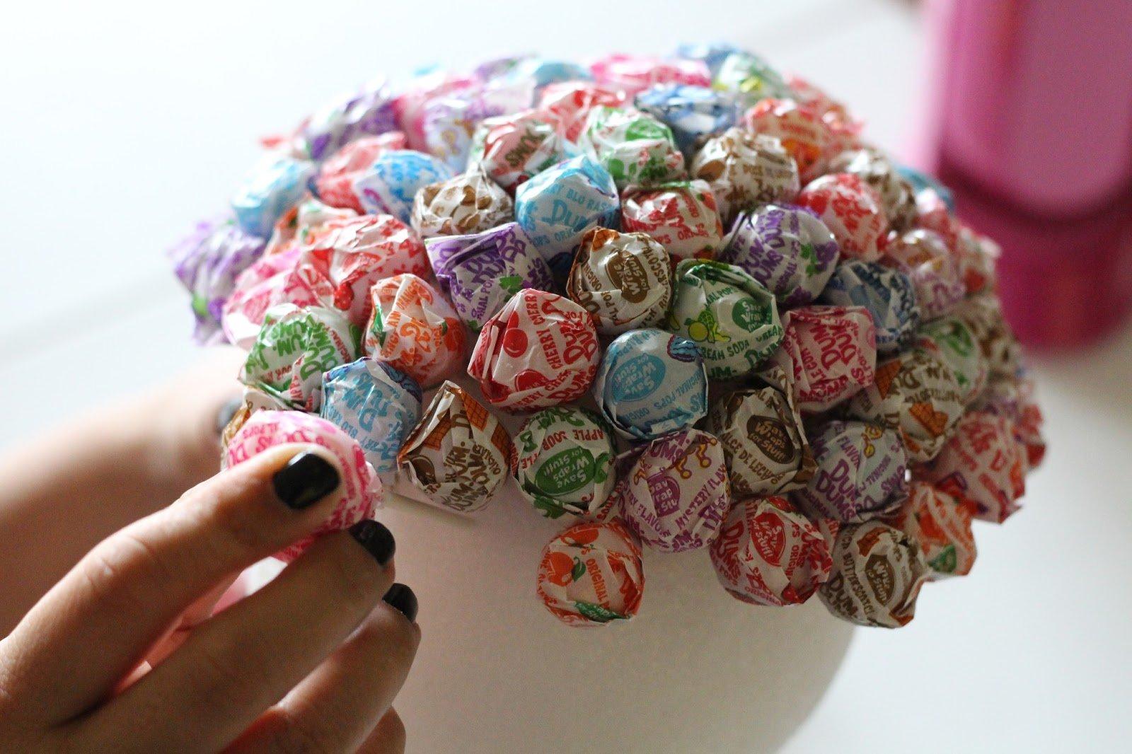 Картины из конфет своими руками