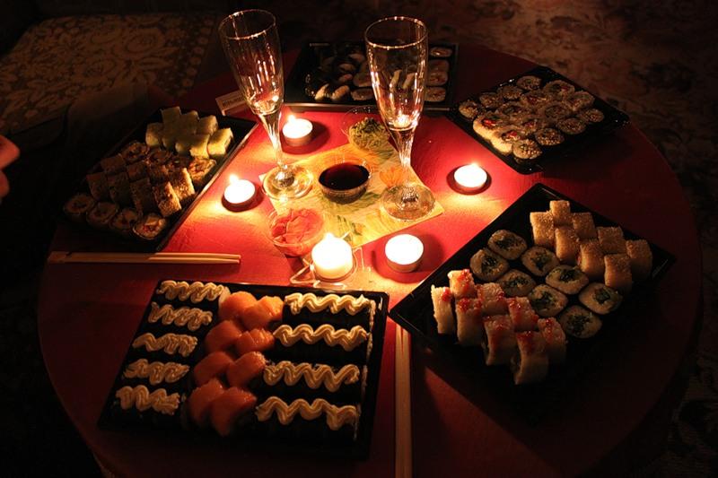 Романтический вечер для любимого мужа в домашних условиях