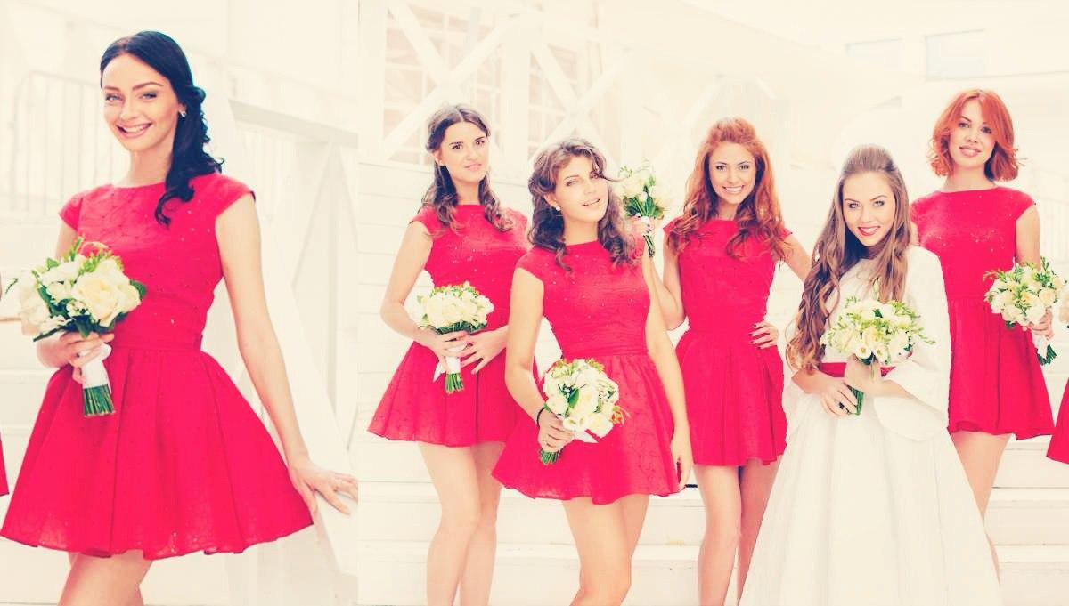 Фото девушек со свадьбы с дружкой 4 фотография