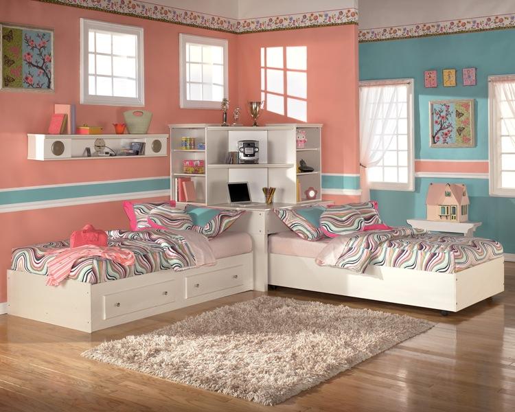 Детская комната для двойни фото