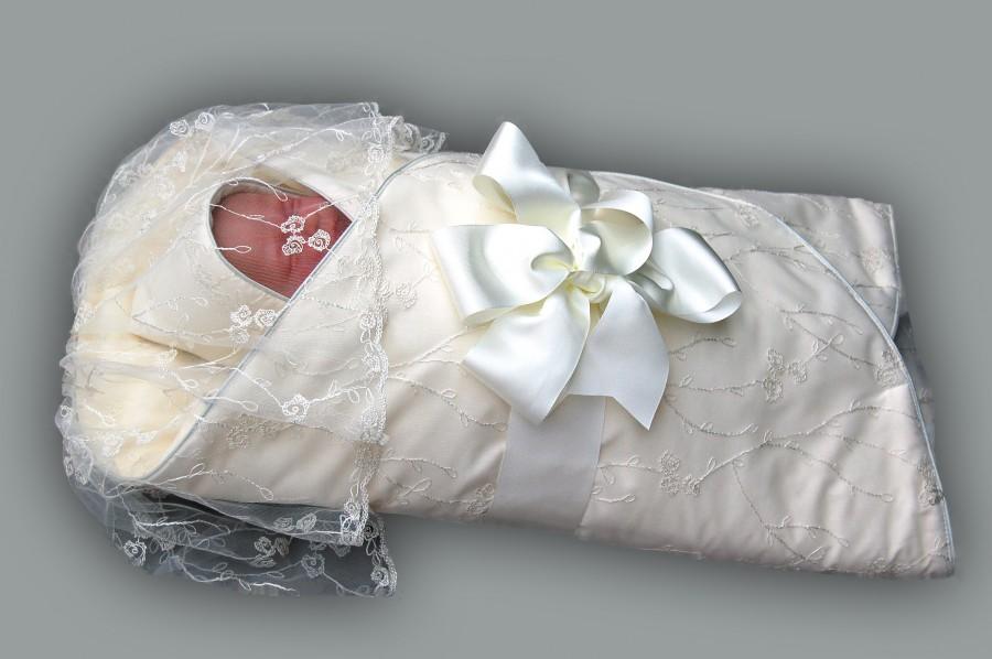 Конверты для новорожденных на выписку зима как сшить
