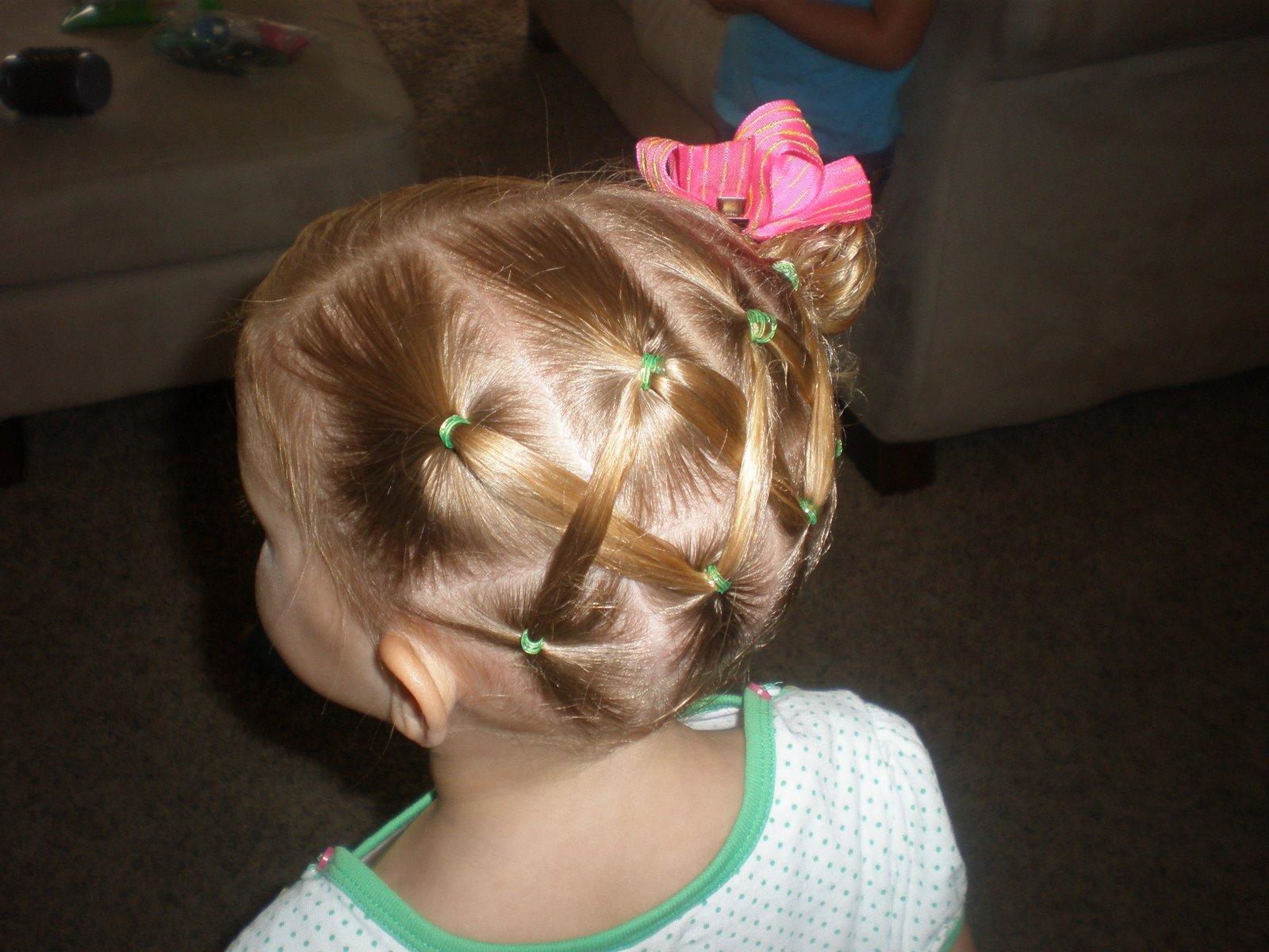Прически для детей 3 лет коротких волос