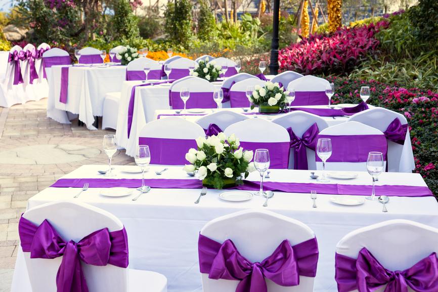 Как украсить свадьбу недорого своими руками