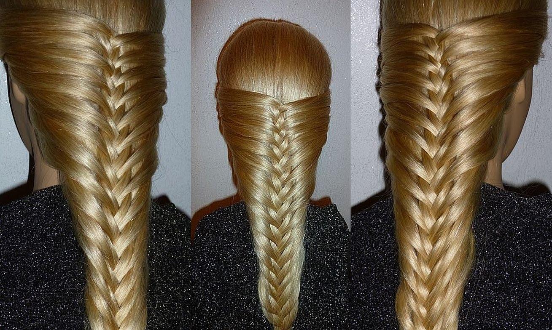 Прически на длинные волосы своими руками французская коса