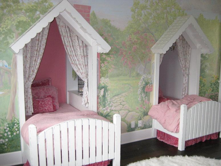 Кровати для девочек своими руками фото