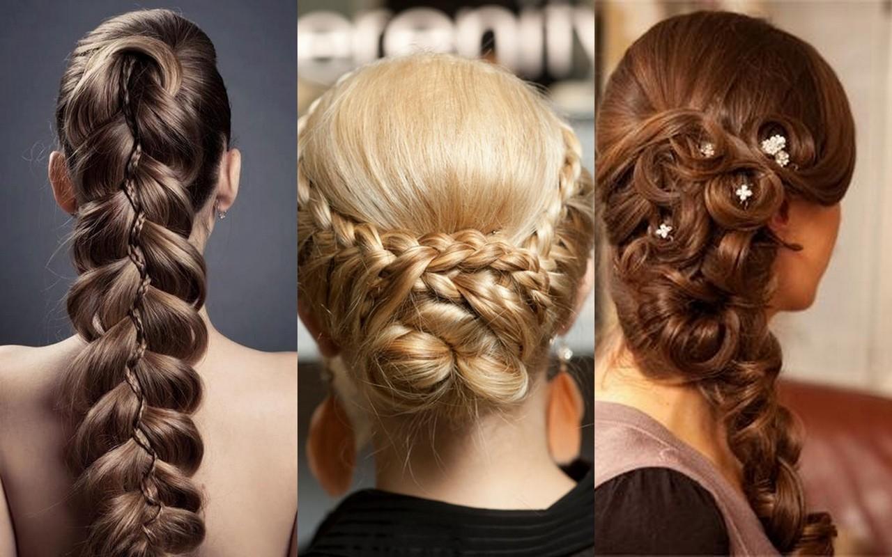 Прически на длиние волоси