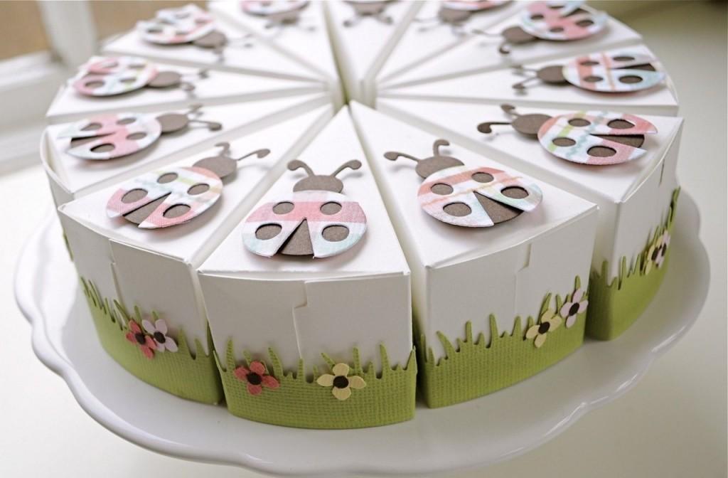 Торт в подарок своими руками из бумаги