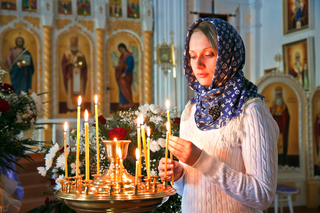 Молитва при богослужении