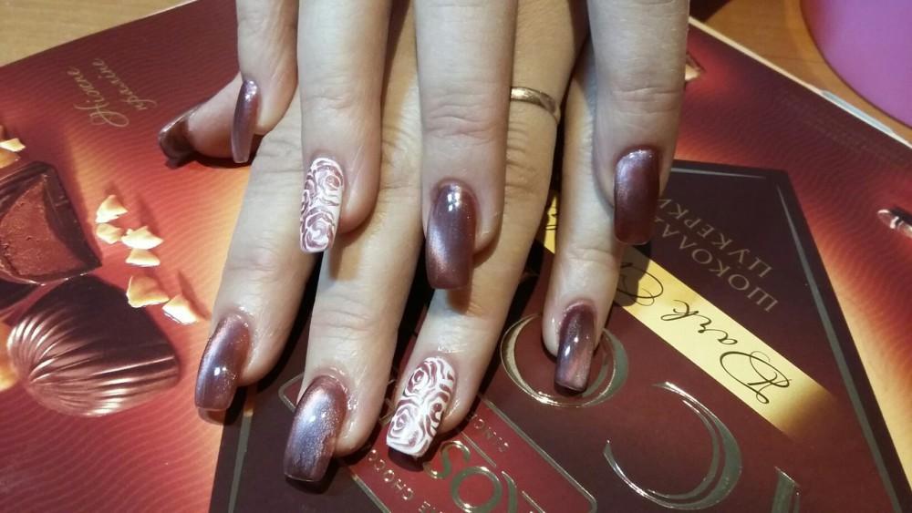 Дизайн ногтей гель лаком фото новинки 2017
