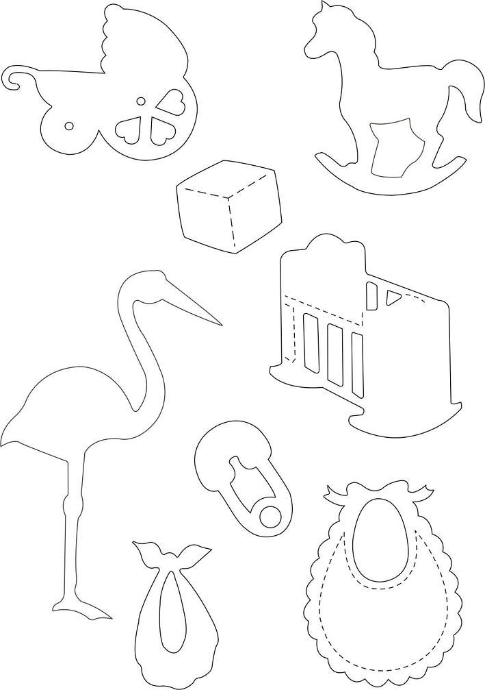 Шаблоны детских открыток для скрапбукинга