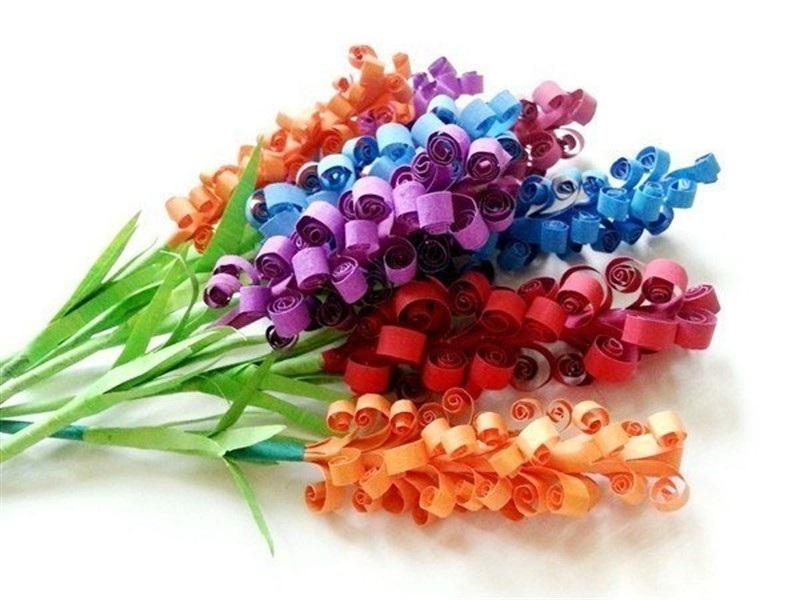 Поделки из бумаги своими руками цветы из бумаги