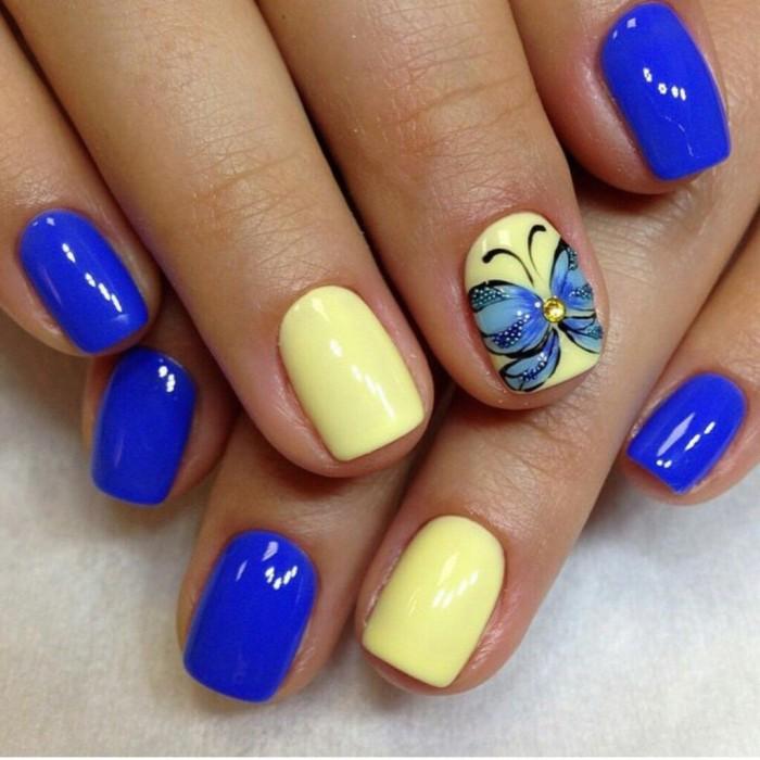 Дизайн ногтей летний шеллак