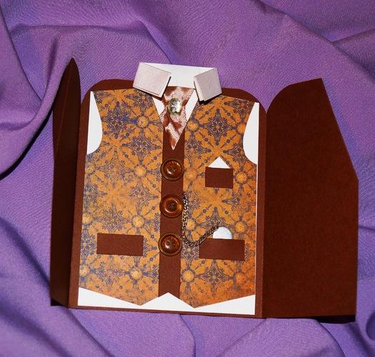 Открытка пиджак своими руками фото