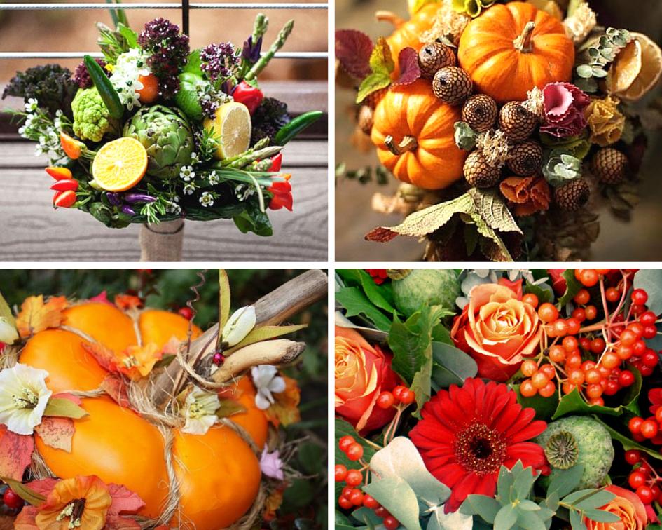 Букет из фруктов и цветов своими руками фото 1