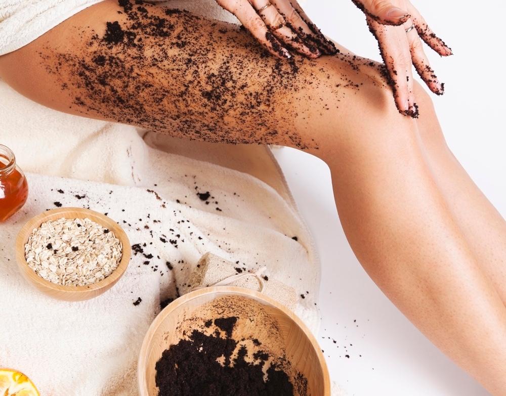 Скраб для тело из кофе против целлюлита