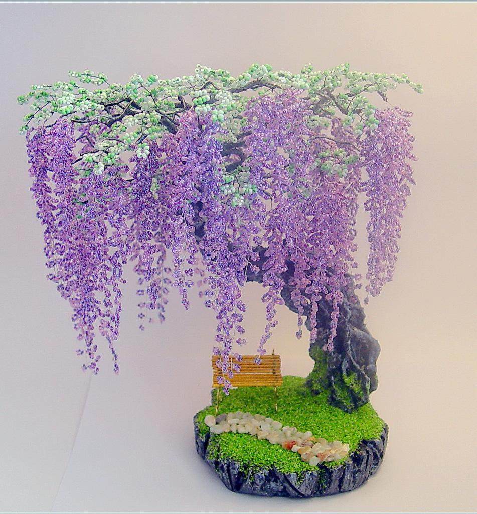 дерева з бсера схеми картнки