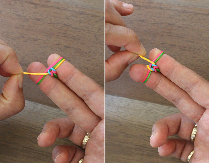 Как сделать браслет своими руками из резинок без станка