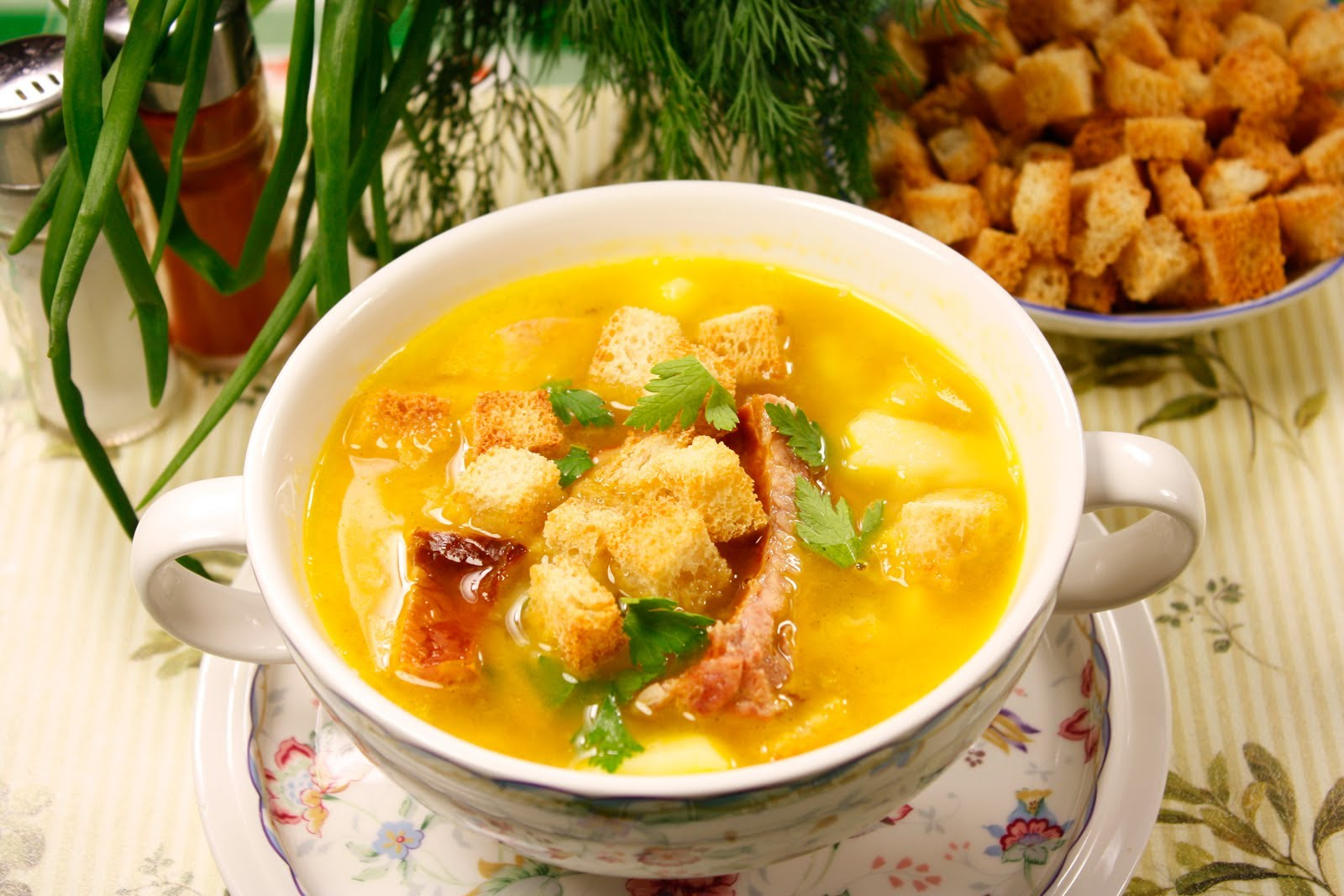 Как приготовить гороховый суп без мяса пошаговый