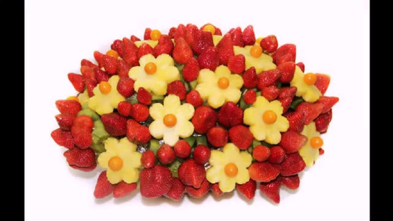 Букеты фруктов своими руками фото