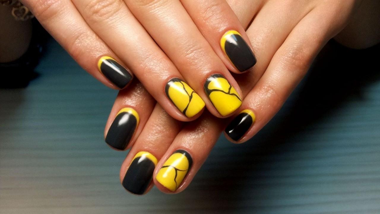Дизайн ногтей гель лаком фото новинки 2016-2017-2016-2017