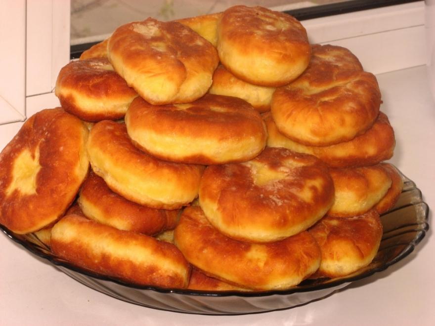 рецепт вкусных пирожков на сковороде