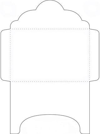 Шаблоны для конвертов для писем своими руками