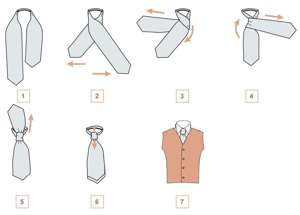 Как сшить мужской галстук шарфик 67