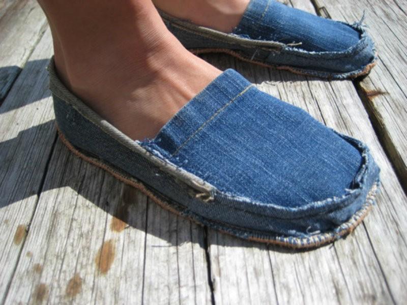 Изделия из старых джинсов своими руками фото