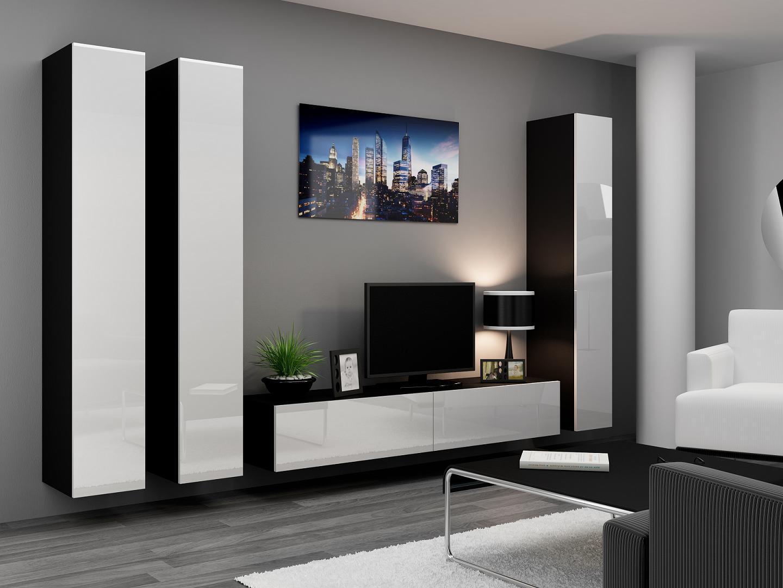 Черно Белая Мебель В Гостиную Москва