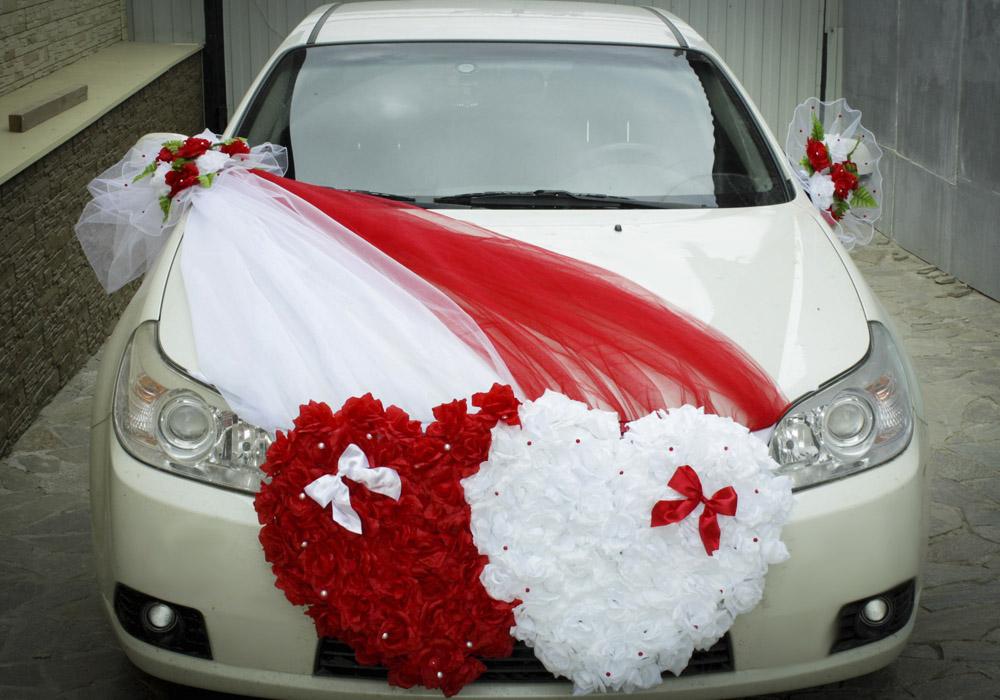 Украшение машины к свадьбе своими руками фото