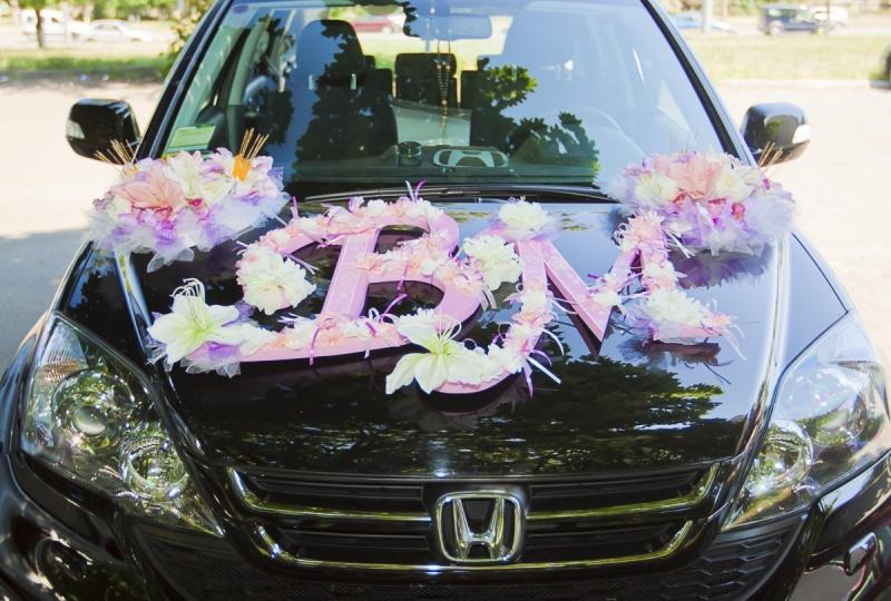 Оформления машины на свадьбу фото своими руками