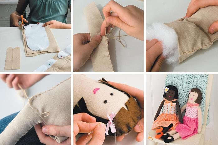 Как сделать куклу своими руками и фото