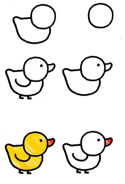 Рисуем поэтапно для начинающих детей 7 лет