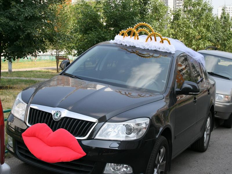 Свадебные украшения на машину невесты своими руками