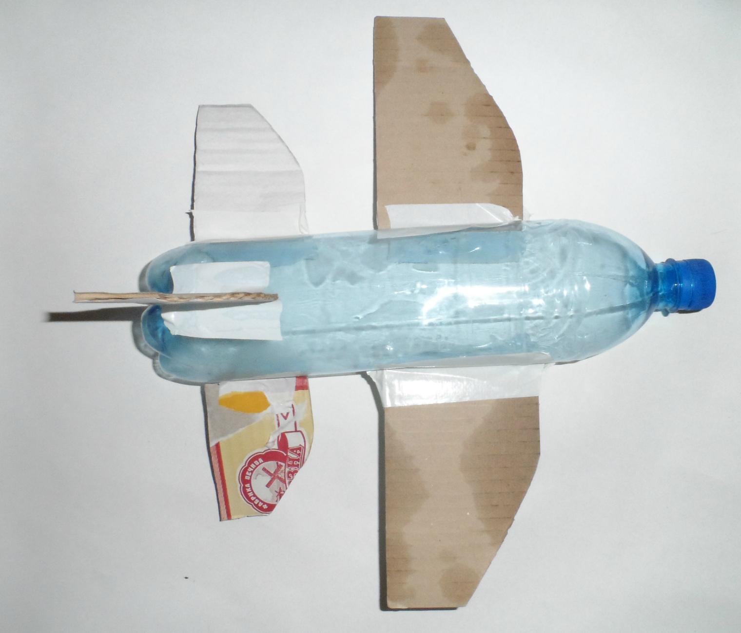 Самолет из бутылки фото - Староселиваново