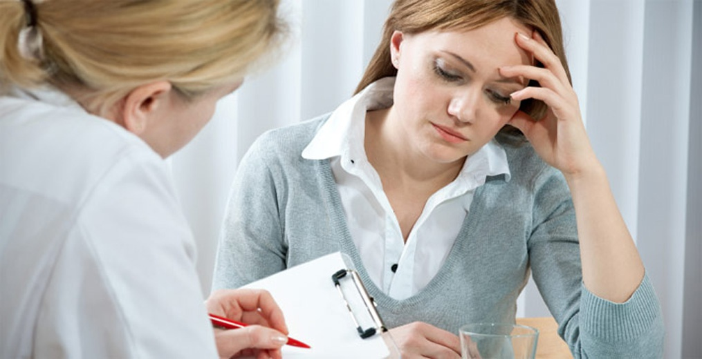 Пациентка у врача гинеколога