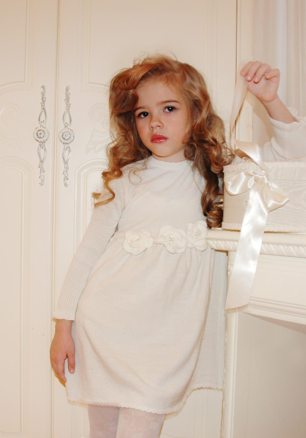 Вязание крючком платье детское для 5 лет схемы