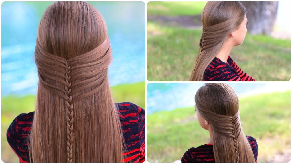 Идеи причесок на длинные волосы своими руками