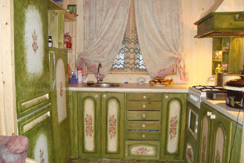 Как декорировать кухонную мебель своими руками