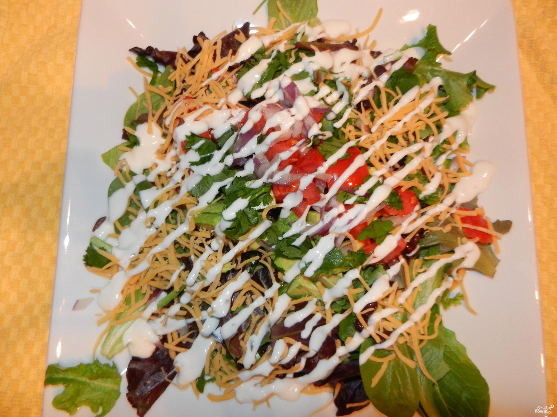 салаты с майонезом рецепты на поваренок