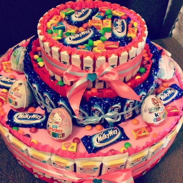 Сделать торт своими руками на день рождения
