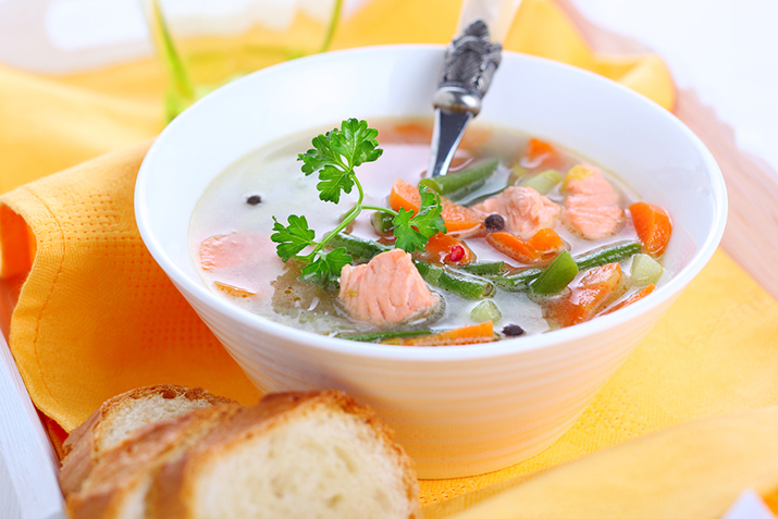 Рыбный суп из консервов горбуши рецепт с фото в мультиварке