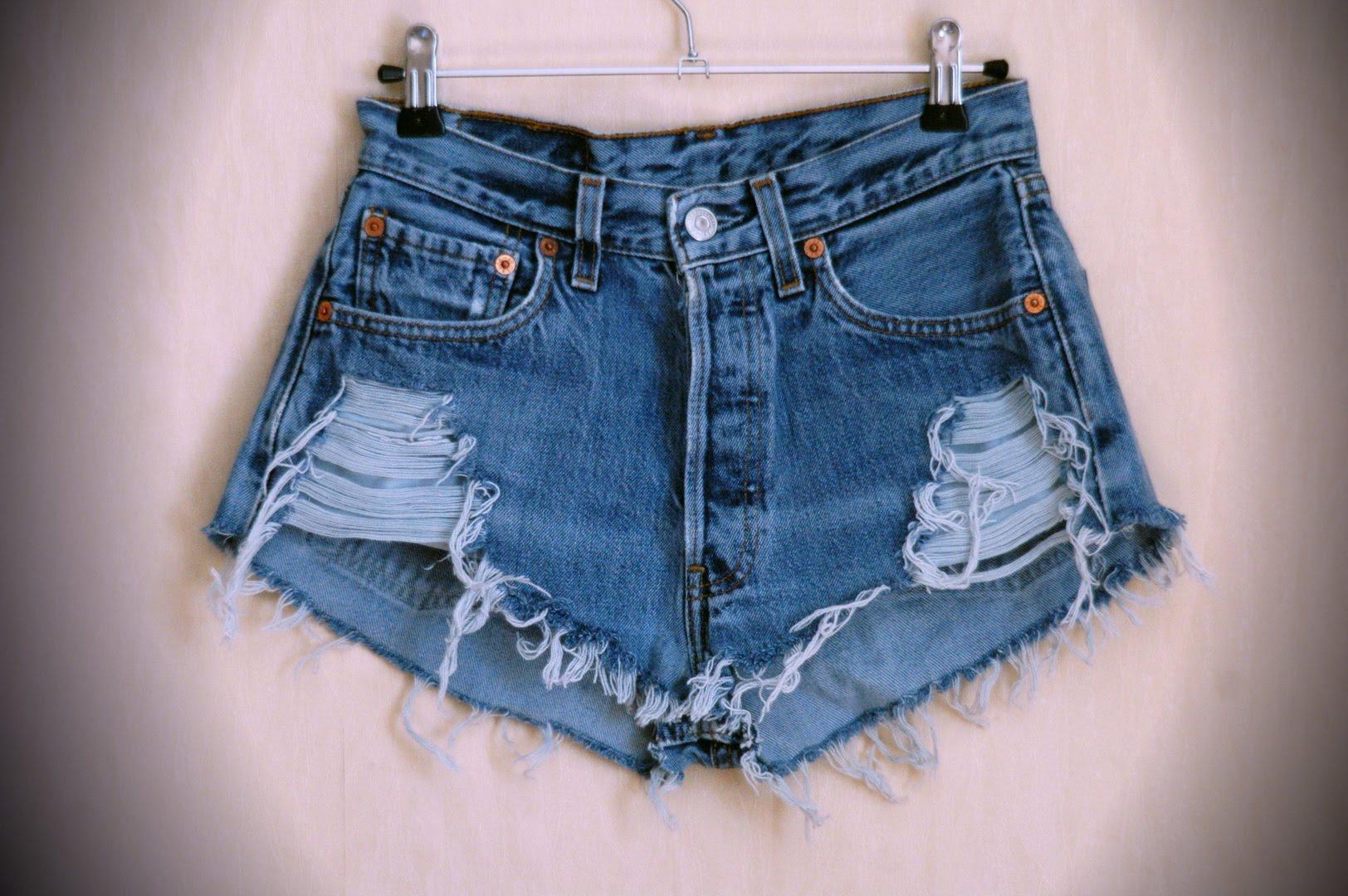 Шорты из джинс мастер класс сделай сам #8