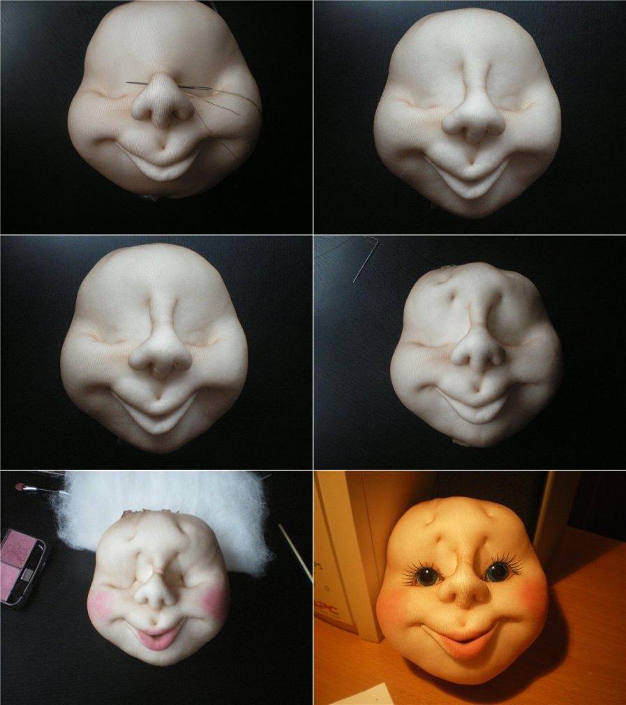 Видео куклы из колготок своими руками пошаговая инструкция