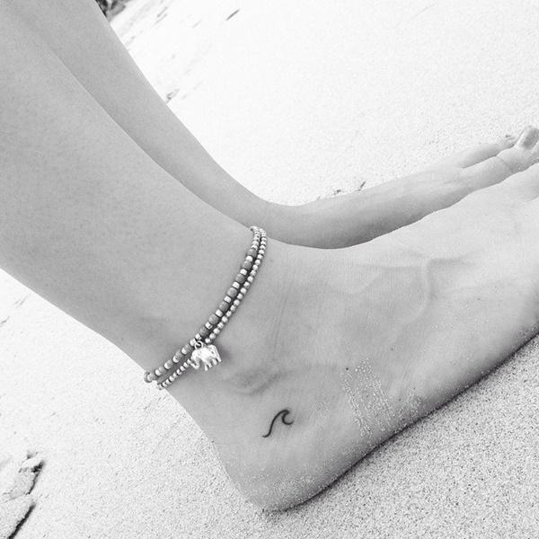 маленькие тату на ноге для девушек